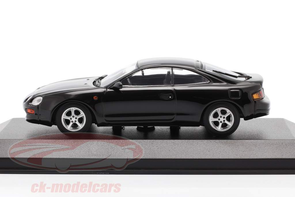 Toyota Celica year 1994 black 1:43 Minichamps