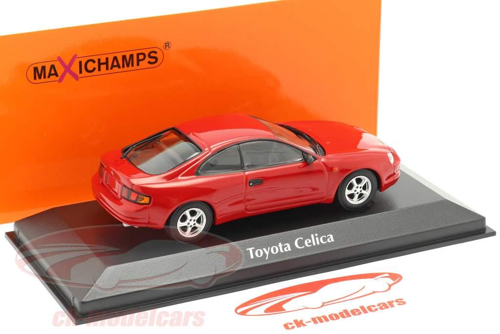 Toyota Celica år 1994 rød 1:43 Minichamps