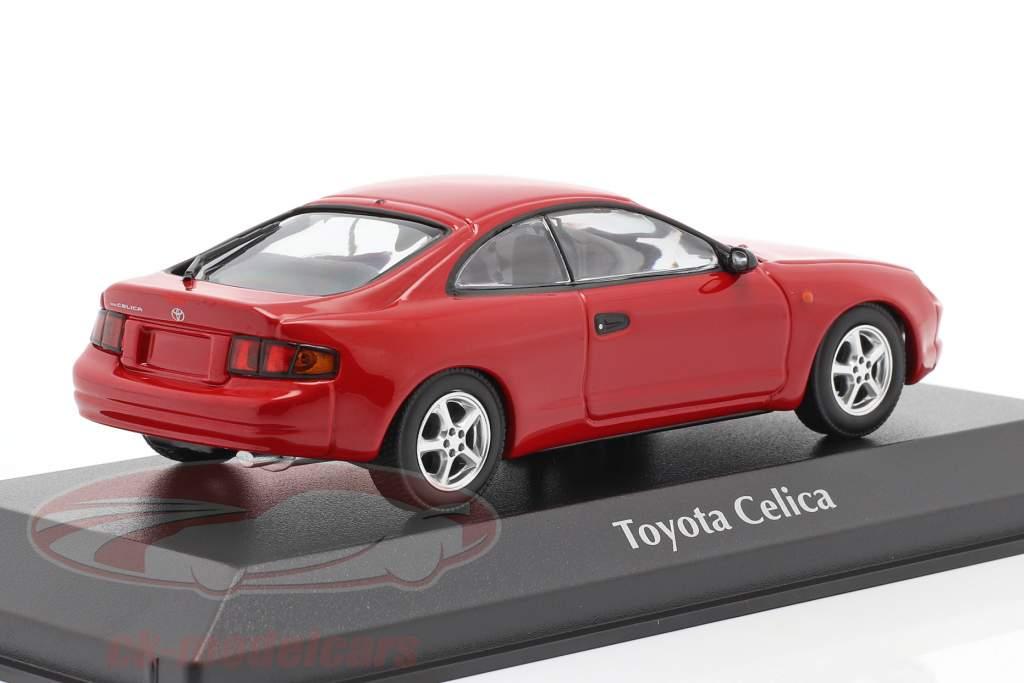 Toyota Celica jaar 1994 rood 1:43 Minichamps