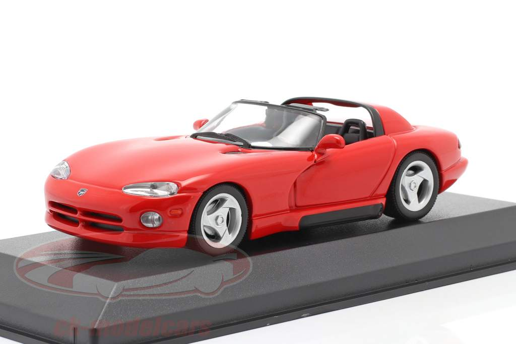 Dodge Viper Roadster an 1993 rouge 1:43 Minichamps