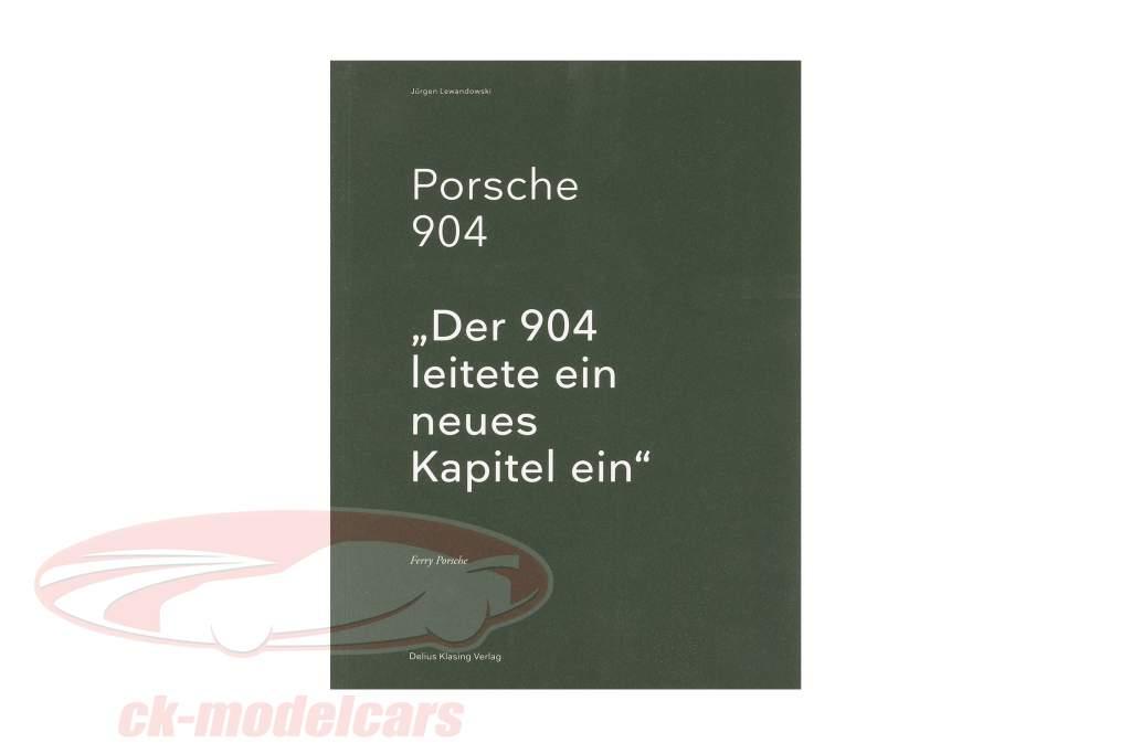 Livre: Porsche 904 de Jürgen Lewandowski