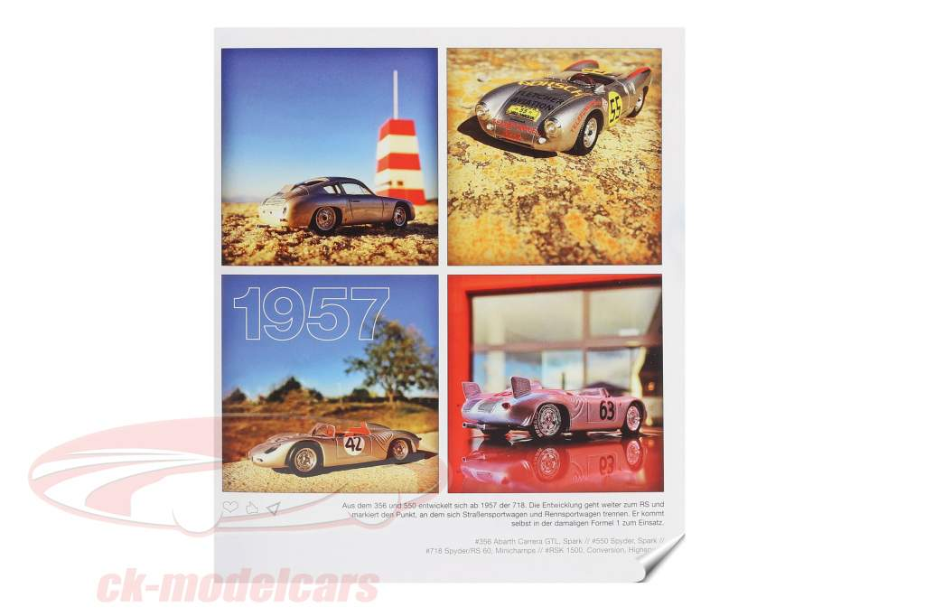Livre: Voitures miniatures Porsche de Jörg Walz DE