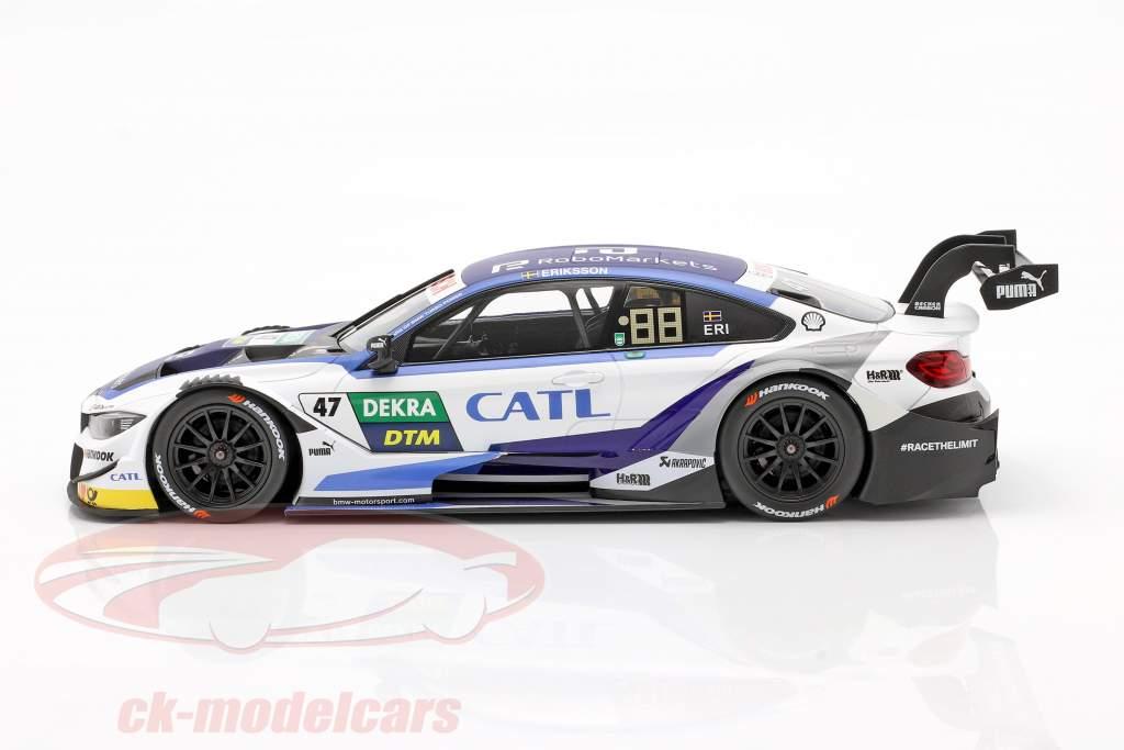 BMW M4 DTM #47 DTM 2019 Joel Eriksson 1:18 Norev