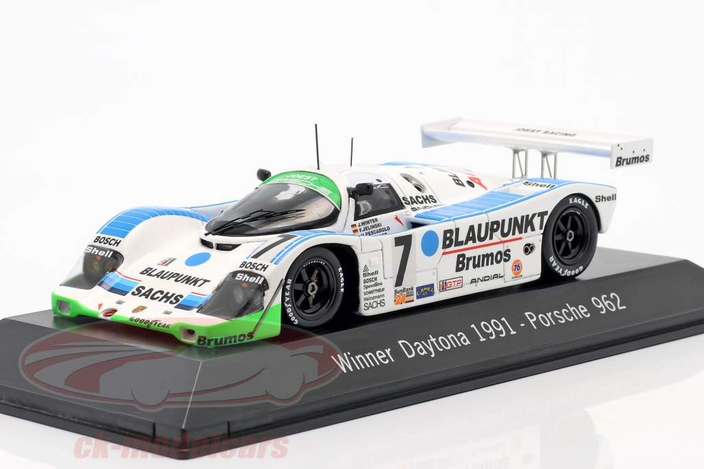 Porsche 962 #7 Gagnant 24h Daytona 1991 Joest Racing 1:43 Spark