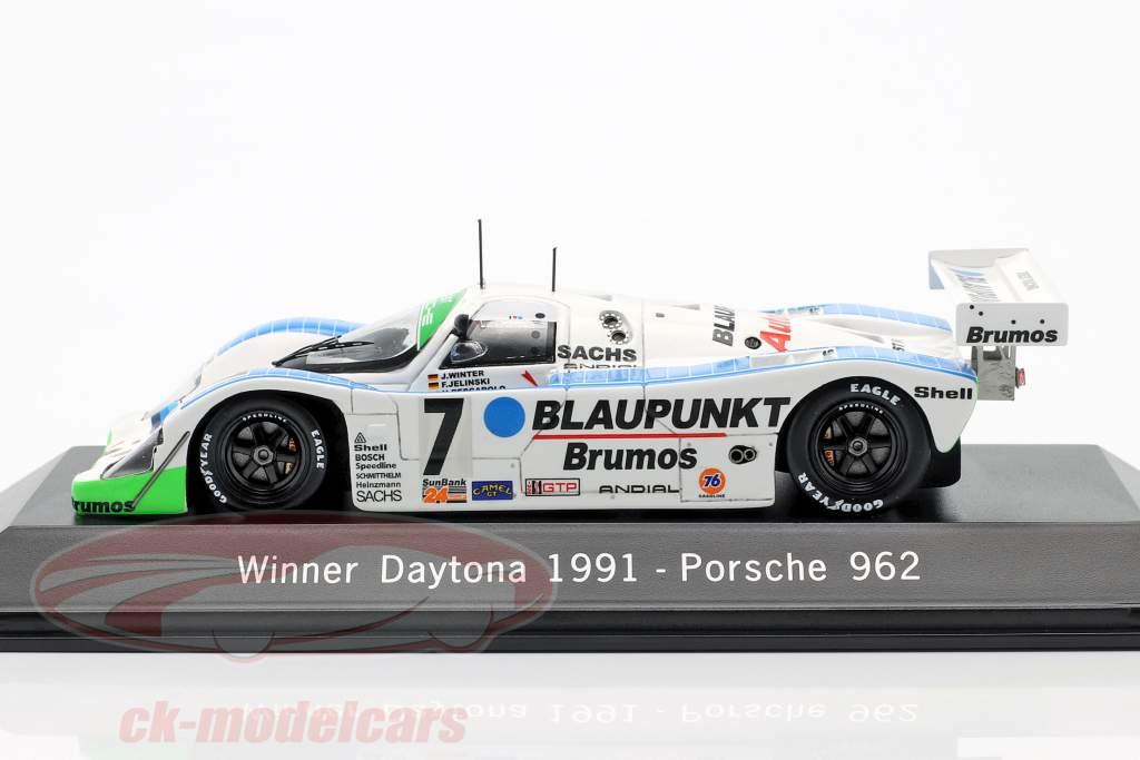 Porsche 962 #7 Vencedor 24h Daytona 1991 Joest Racing 1:43 Spark