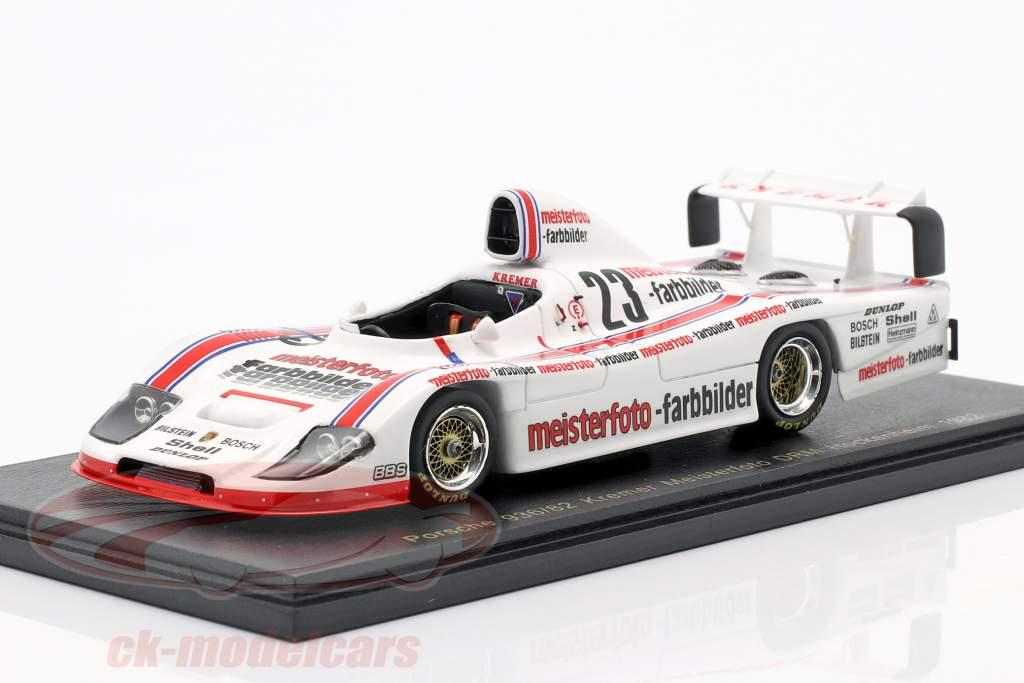 Stefan Bellof Kremer Porsche 936/82 #23 DRM Hockenheim 1982 1:43 Spark