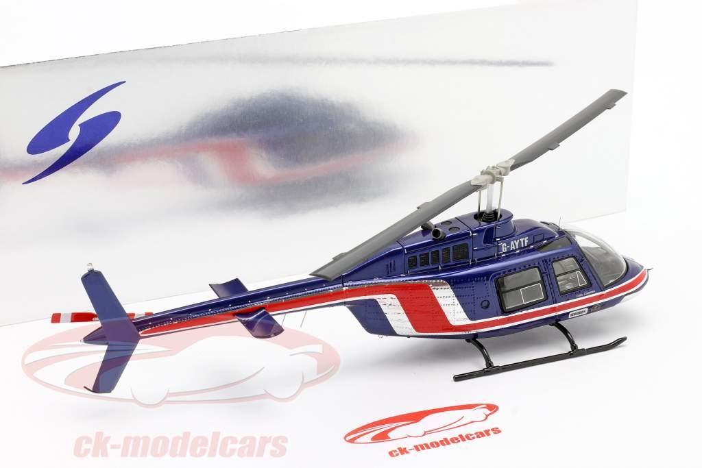 Team Lotus Helikopter Team Essex Formel 1 1981 blau / rot 1:43 Spark