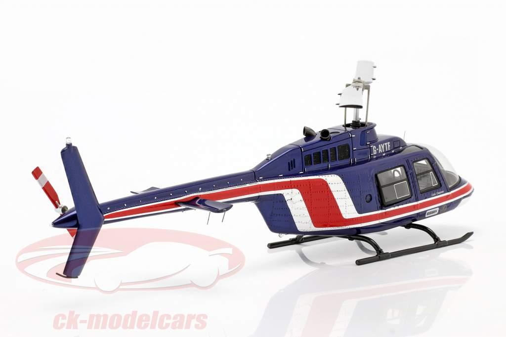 Team Lotus de Formule 1 1981 Helicopter Essex équipe bleu / rouge 1:43 Spark