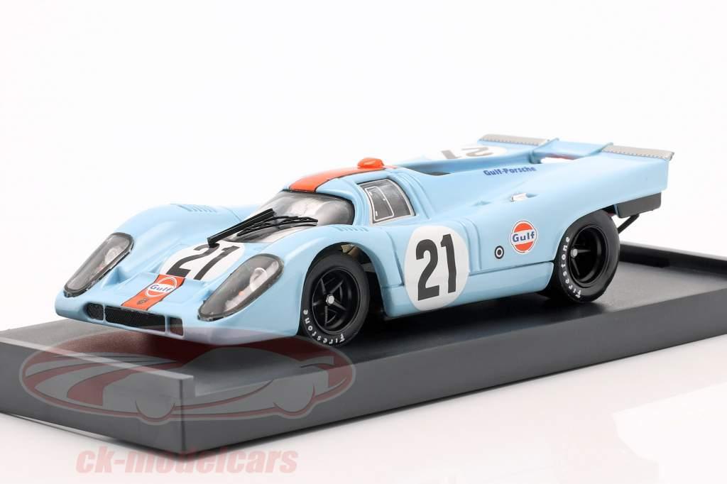 Porsche 917K #21 Gulf Rodriguez & Kinnunen 24h LeMans 1970 1:43 Brumm