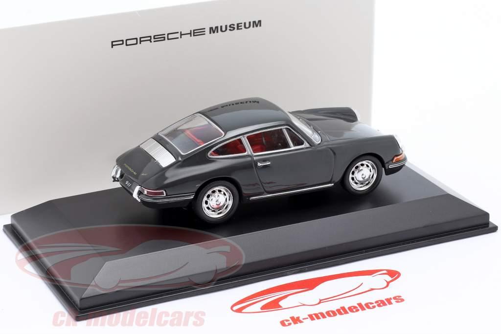 Porsche 911 (modèle original) 1965 gris 1:43 Welly