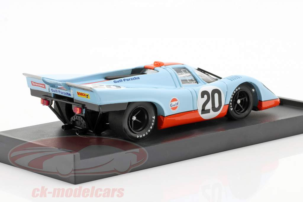 Porsche 917 K N° 20 Golfo Siffert Redman 24h Le Mans 1970 1:43 Brumm