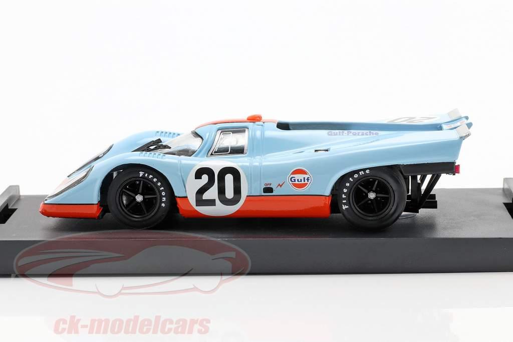 #20 Gulf Porsche 917 K Siffert Redman 24h LeMans 1970 1:43 Brumm