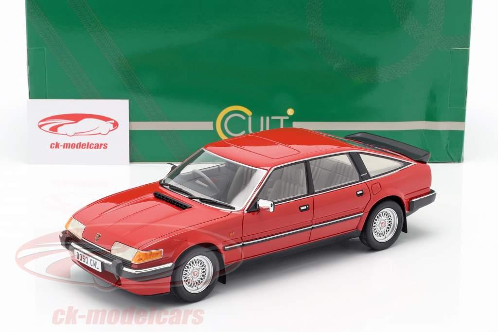 Rover 3500 Vitesse Bouwjaar 1985 rood 1:18 Cult Scale