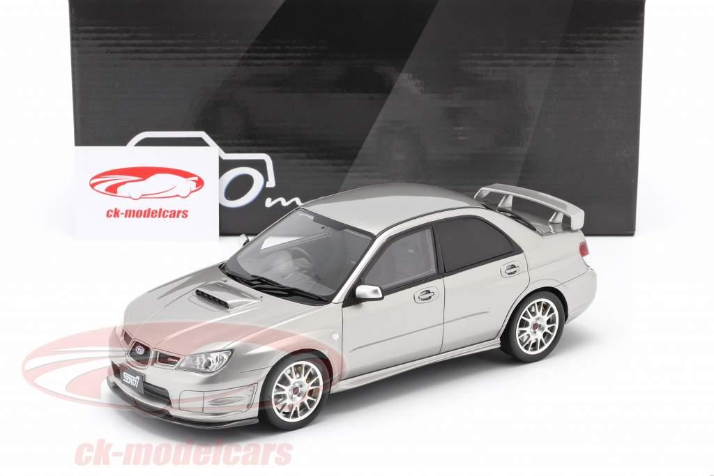 Subaru Impreza STI S 204 Año de construcción 2006 gris cristal 1:18 Ottomobile