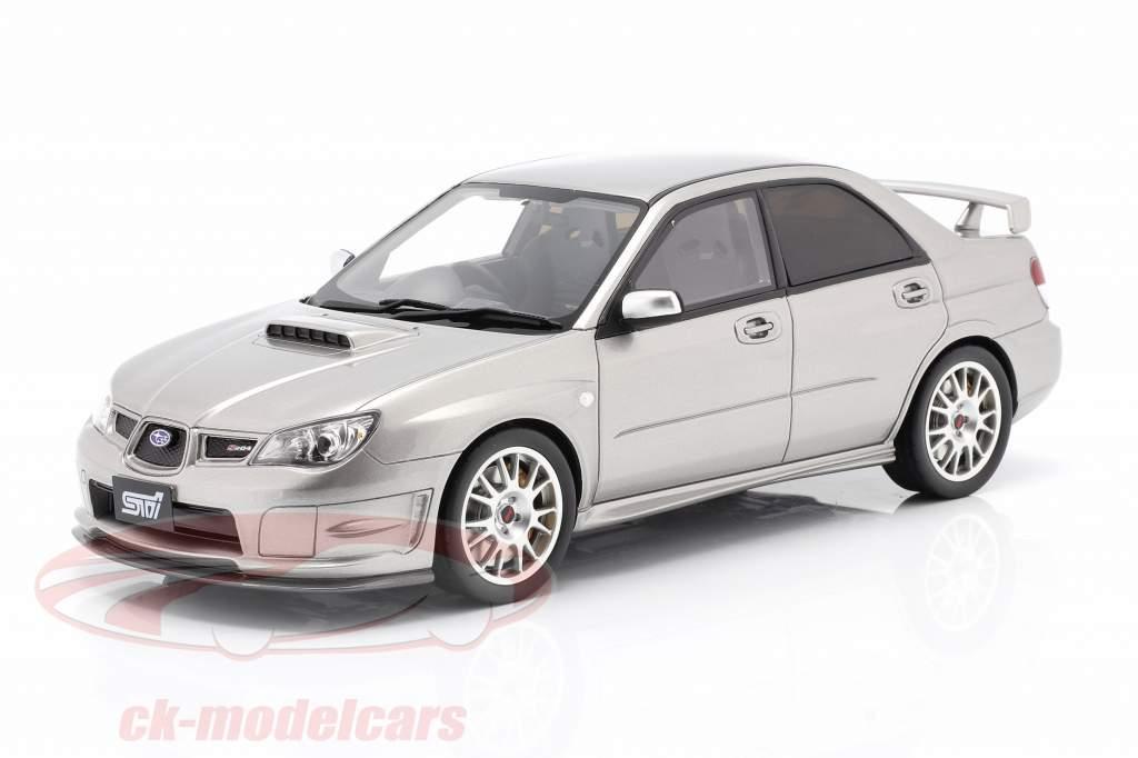 Subaru Impreza STI S 204 Année de construction 2006 gris cristal 1:18 Ottomobile