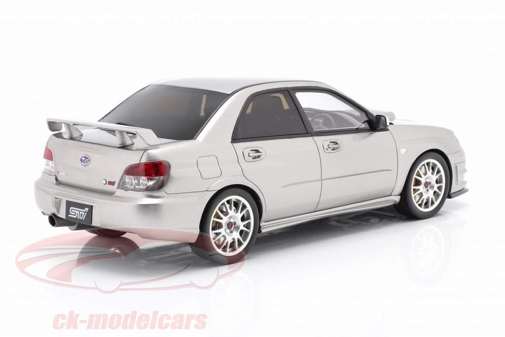 Subaru Impreza STI S 204 Anno di costruzione 2006 grigio cristallo 1:18 Ottomobile