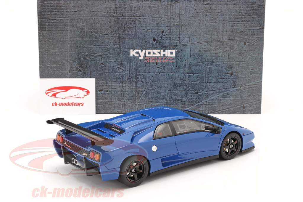 Lamborghini Diablo SVR azul 1:18 Kyosho