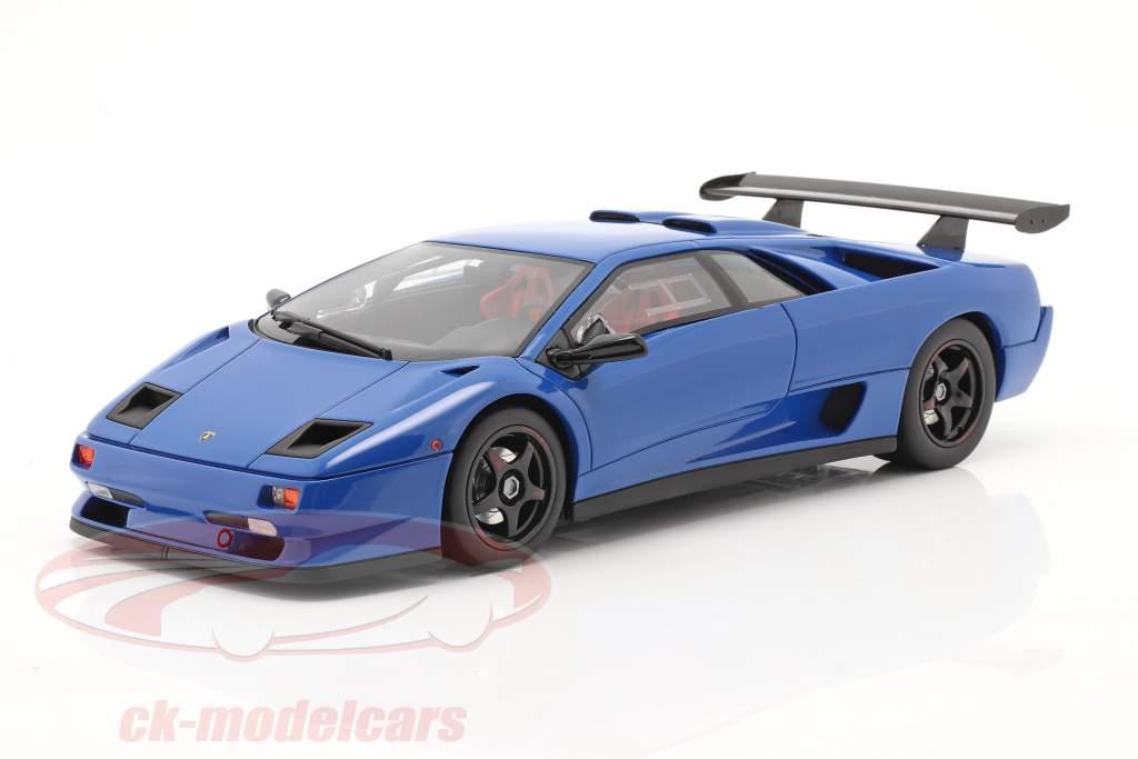 Lamborghini Diablo SVR blå 1:18 Kyosho