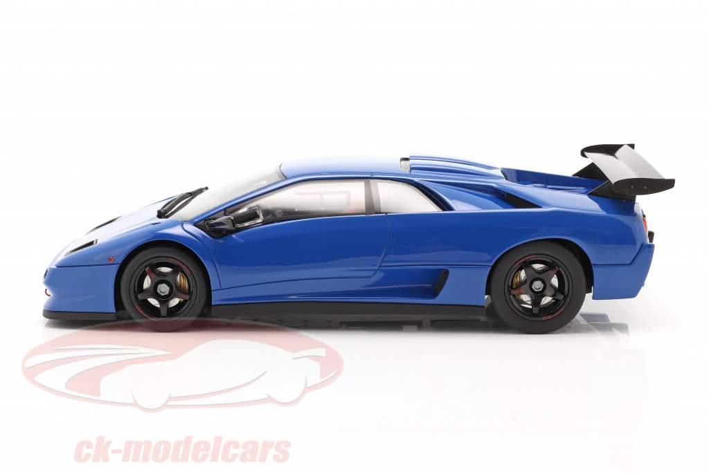 Lamborghini Diablo SVR blauw 1:18 Kyosho