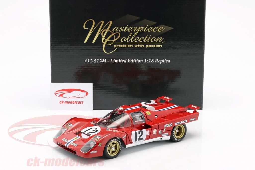 Ferrari 512M #12 Tercero 24h LeMans 1971 Posey, Adamowicz 1:18 GMP