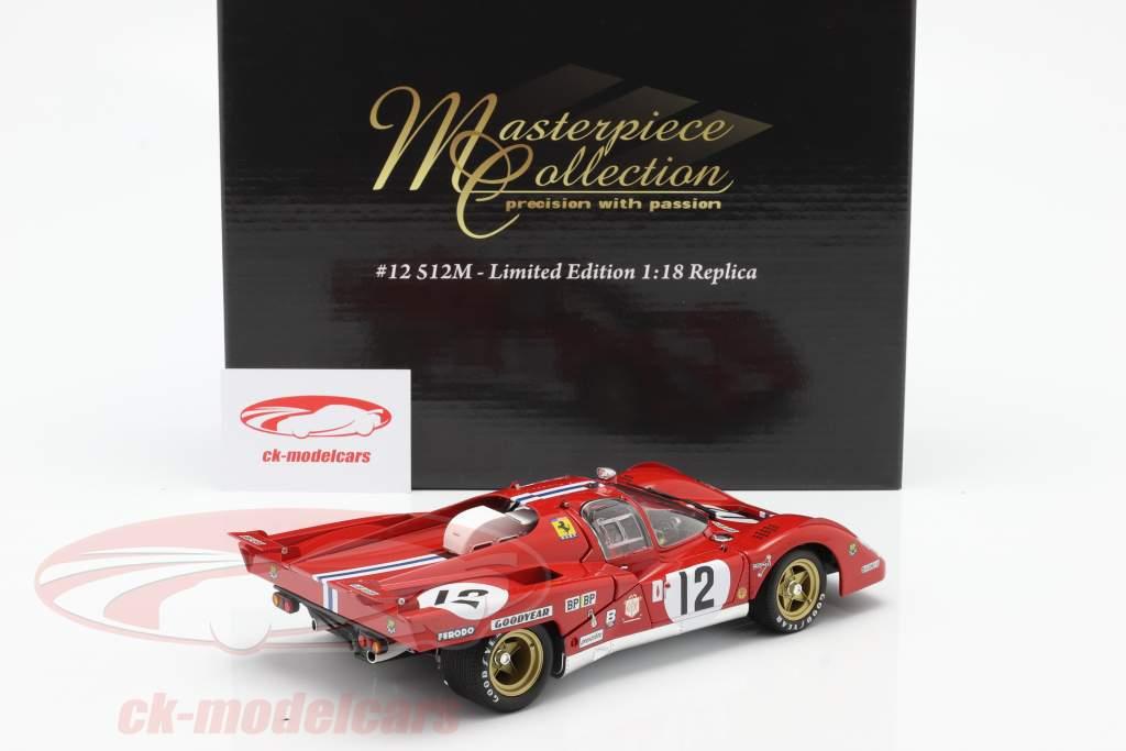 Ferrari 512M #12 3 ° 24h LeMans 1971 Posey, Adamowicz 1:18 GMP