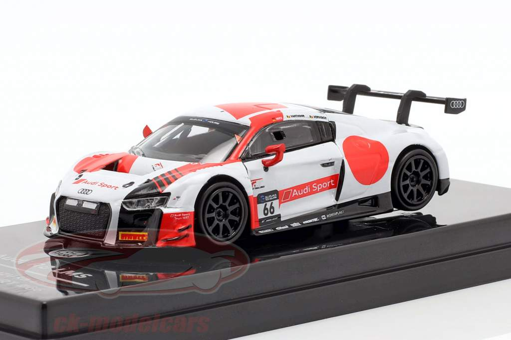 Audi R8 LMS #66 4e 10h Suzuka 2018 Audi Sport Team WRT 1:64 ParagonModels