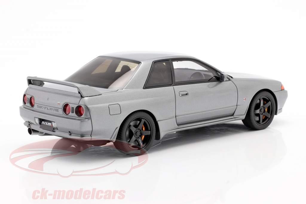 Nissan Sklyine GT-R R32 Nismo Grand Touring gris 1:18 Kyosho