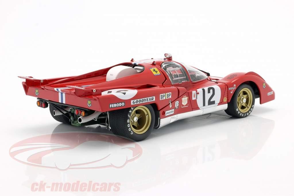 Ferrari 512M #12 3e 24h LeMans 1971 Posey, Adamowicz 1:18 GMP