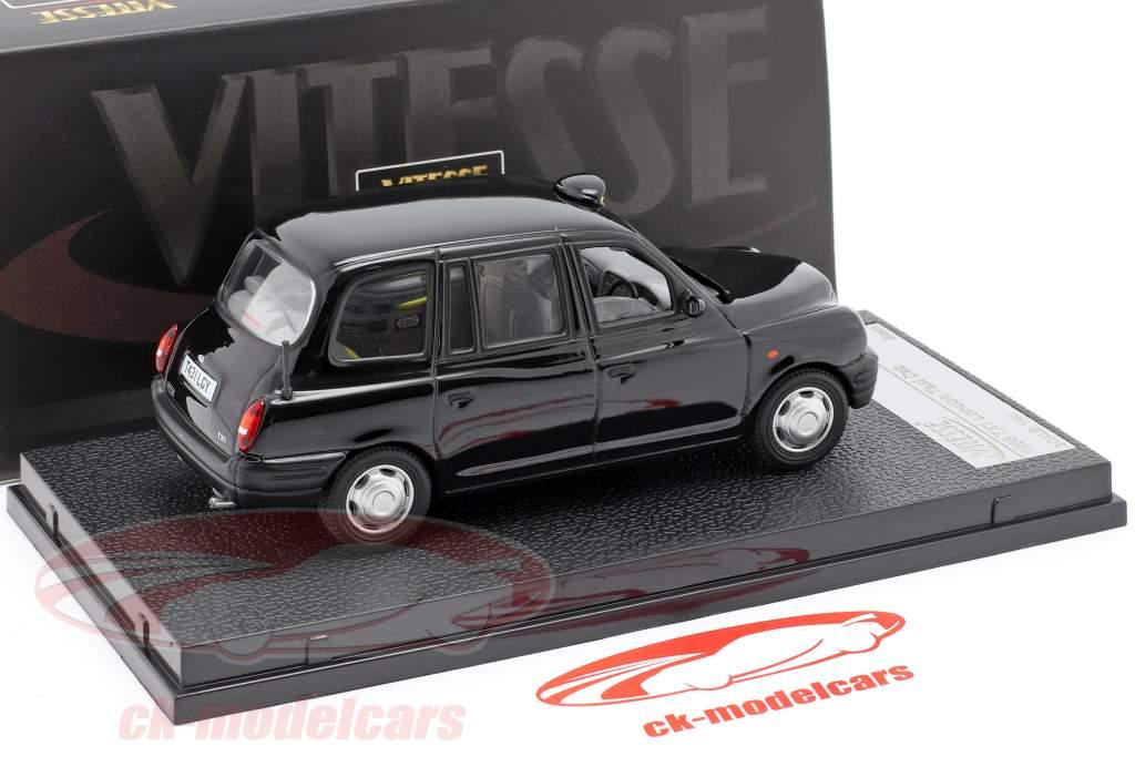 TX1 London Taxi Cap año 1998 negro 1:43 Vitesse