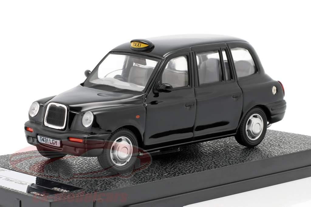 TX1 London Taxi Cap jaar 1998 zwart 1:43 Vitesse