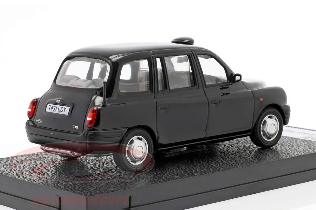 TX1 London Taxi Cap anno 1998 nero 1:43 Vitesse