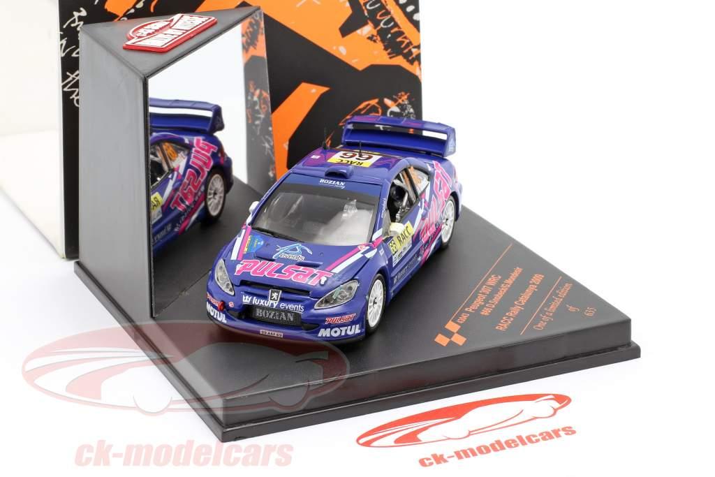 Peugeot 307 WRC #66 RACC Rally Catalunya 2009 Snobeck, Mondesir 1:43 Vitesse