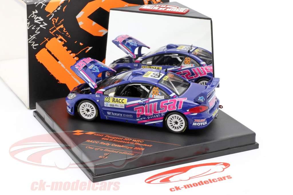 Peugeot 307 WRC #66 RACC Rallye Catalunya 2009 Snobeck, Mondesir 1:43 Vitesse