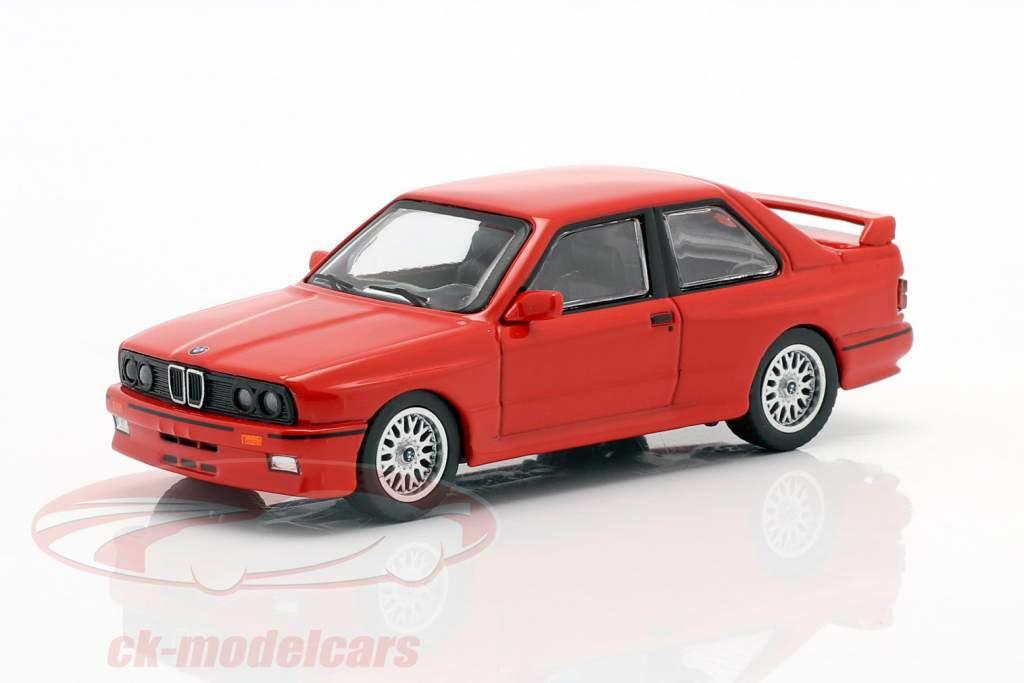 BMW M3 (E30) LHD henna rot 1:64 TrueScale