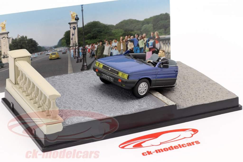 Renault 11 Taxi film de James Bond de voiture bleue à 1:43 Ixo