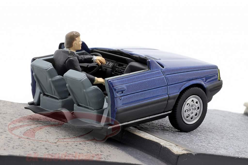 Renault 11 Taxi James Bond Movie Car Im Angesicht des Todes blau 1:43 Ixo