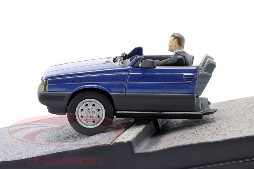 雷诺11出租车詹姆斯·邦德电影汽车在面对死亡的时候蓝色的1点43 IXO