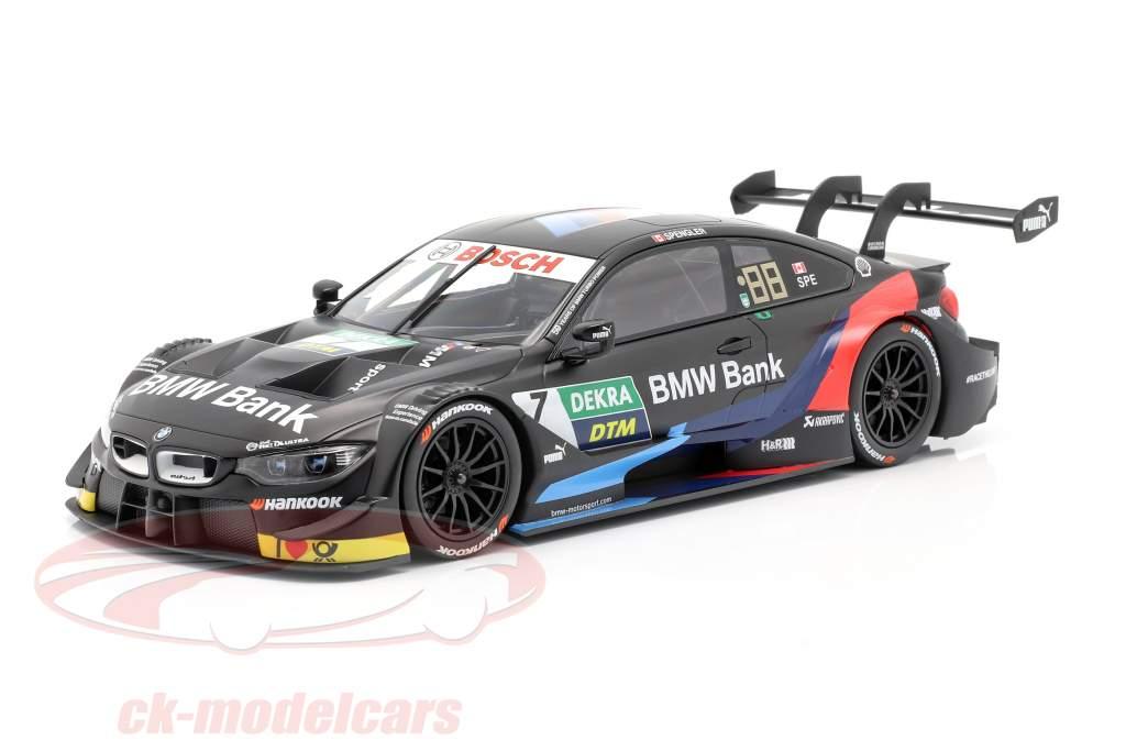 BMW M4 DTM #7 DTM 2019 Bruno Spengler 1:18 Norev