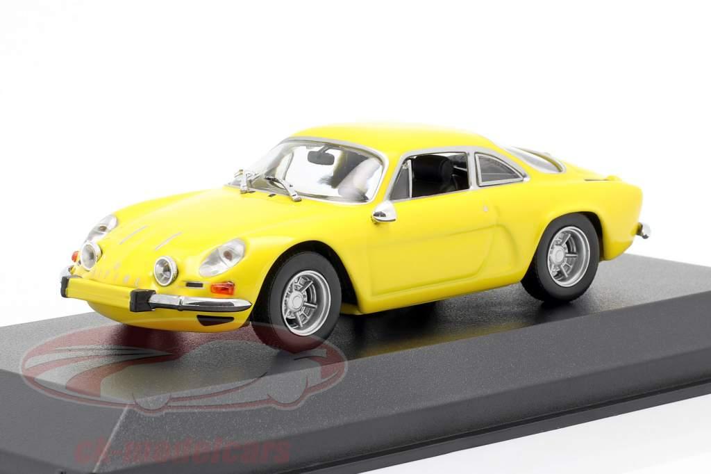 Renault Alpine A110 année 1971 jaune 1:43 Minichamps