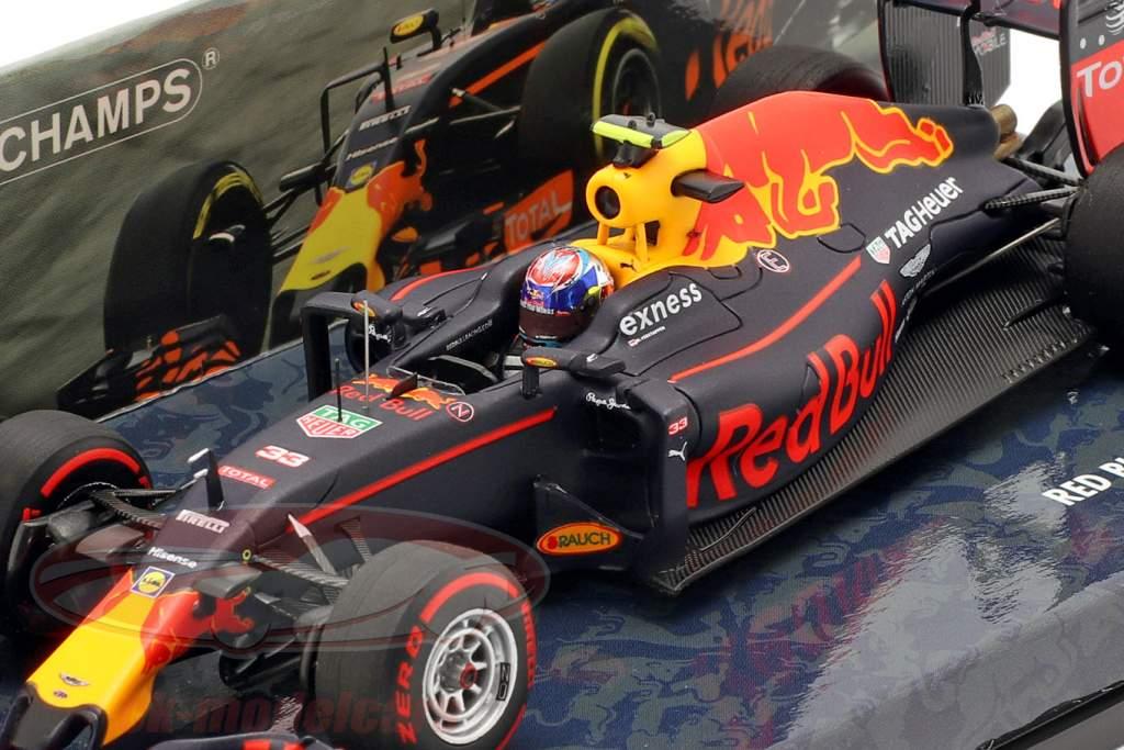 Max Verstappen Red Bull RB12 #33 3e Duitsland GP formule 1 2016 1:43 Minichamps