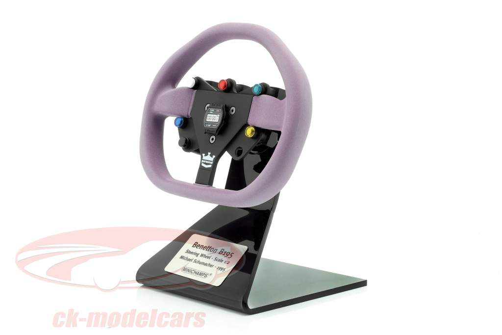 Michael Schumacher Benetton B195 formula 1 campione 1995 volante 1:2 Minichamps