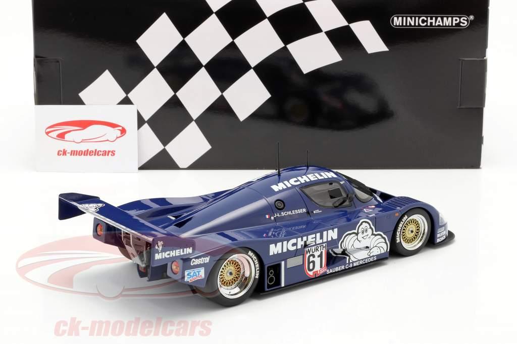 Sauber Mercedes C9 #61 Winner ADAC Supersprint 1987 Schlesser 1:18 Minichamps