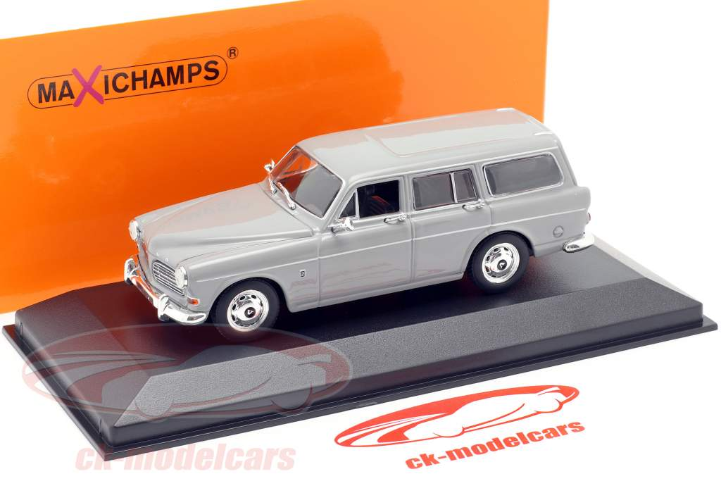 Volvo 121 Amazon Break jaar 1966 Grijs 1:43 Minichamps