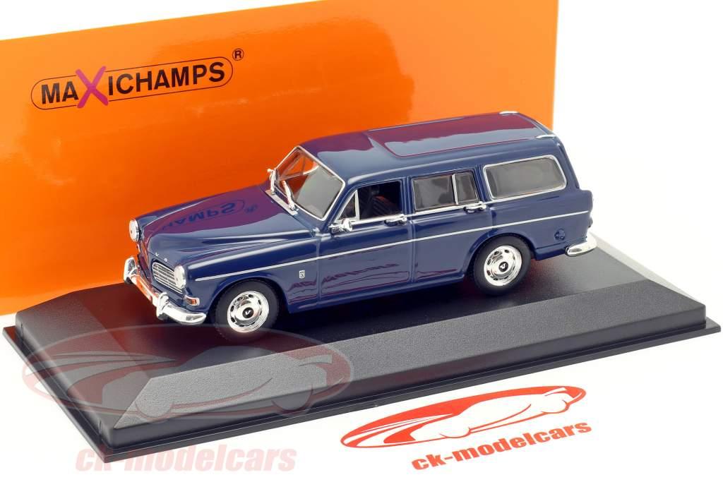 Volvo 121 Amazon Break an 1966 sombre bleu 1:43 Minichamps
