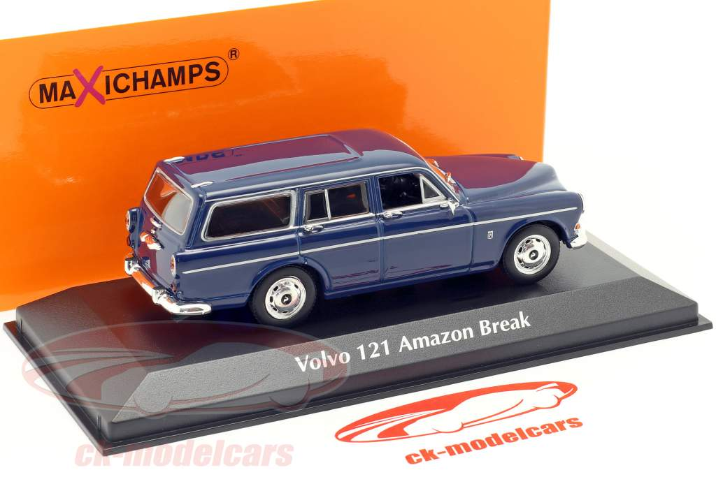 Volvo 121 Amazon Break Baujahr 1966 dunkelblau 1:43 Minichamps