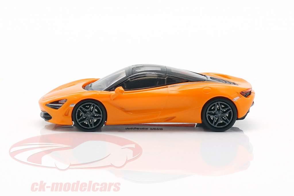 McLaren 720 S Orange 1:87 Minichamps