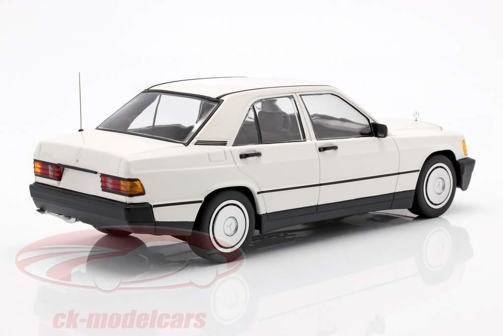 Mercedes-Benz 190E (W201) Baujahr 1982 weiß 1:18 Minichamps