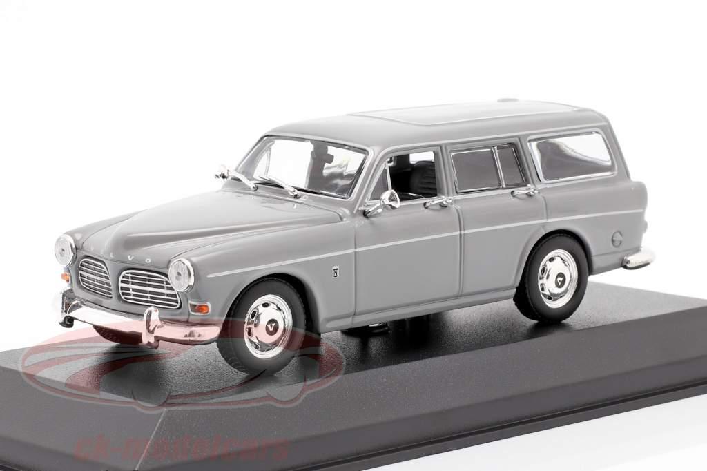 Volvo 121 Amazon Break ano 1966 cinzento 1:43 Minichamps