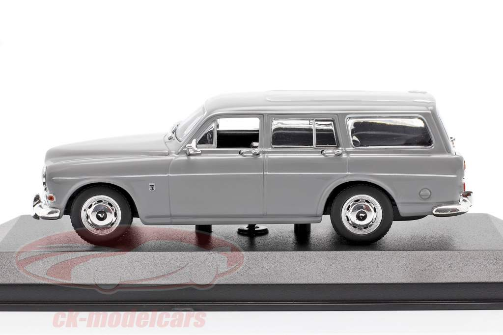 Volvo 121 Amazon Break an 1966 gris 1:43 Minichamps