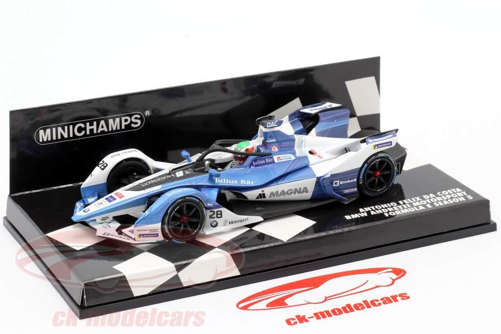 Antonio Felix da Costa BMW iFE.18 #28 Formel E 2018-2019 1:43 Minichamps